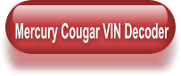 Mercury Cougar VIN Decoder
