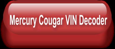 Cougar Club of America - Data Plate Info